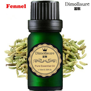 Dimollaure Fennel essential oil Relieve stomach SPA body massage Fragrance light Aromatherapy essential oil