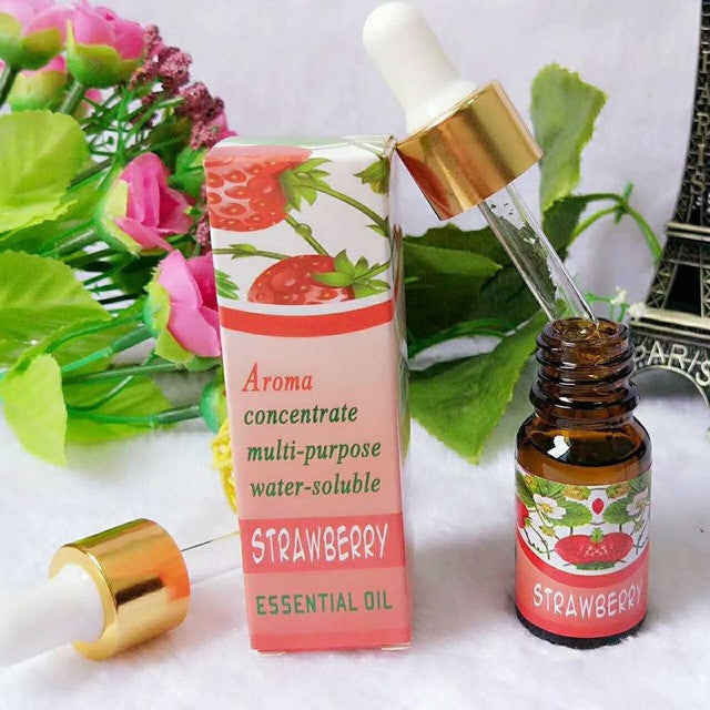 Brand New Water-soluble Oil Essential Oils(10 ml) for Aromatherapy Lavender Oil Humidifier Oil with 12 Kinds of Fragrance Jasmine