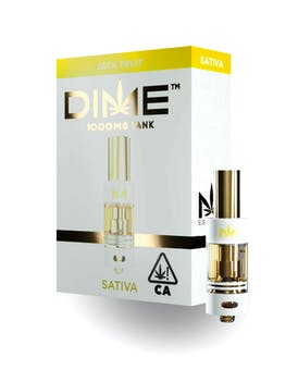 DIME 1000MG CARTRIDGE - SATIVA (OPTIONS)