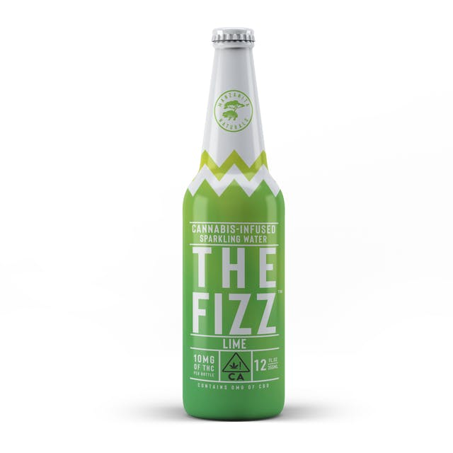 THE FIZZ Sparkling Water - Lime (10mg)