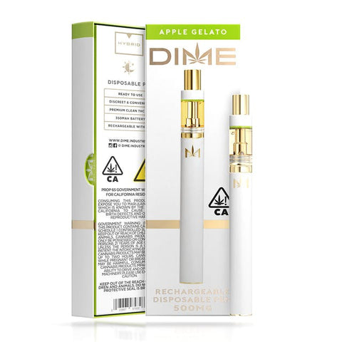DIME 500mg Disposable - Apple Gelato