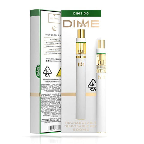 DIME 500mg Disposable - Dime OG