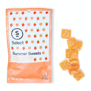 Select Gummies 100mg Summer Sweets