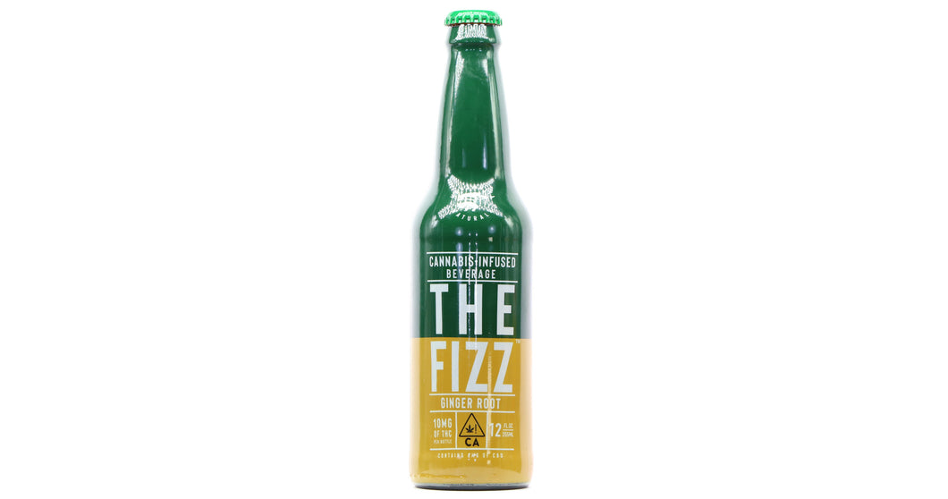 THE FIZZ - Ginger Root Soda (10mg)