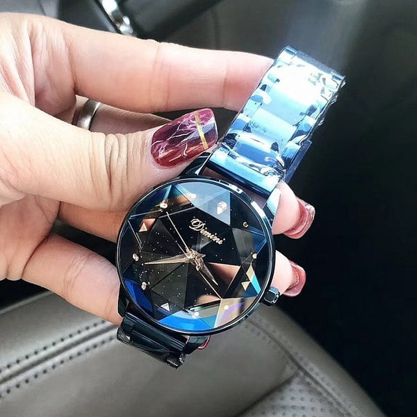 Stainless Crystal Watch