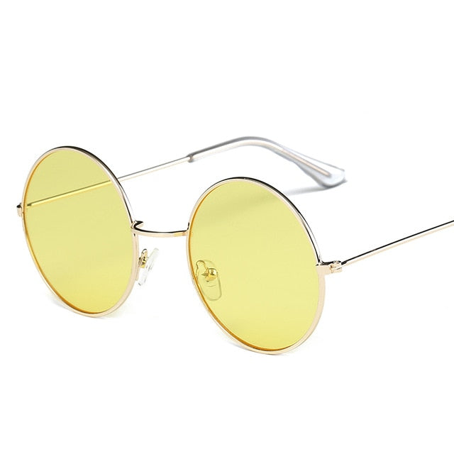 Ocean Color Lens Mirror Sunglasses