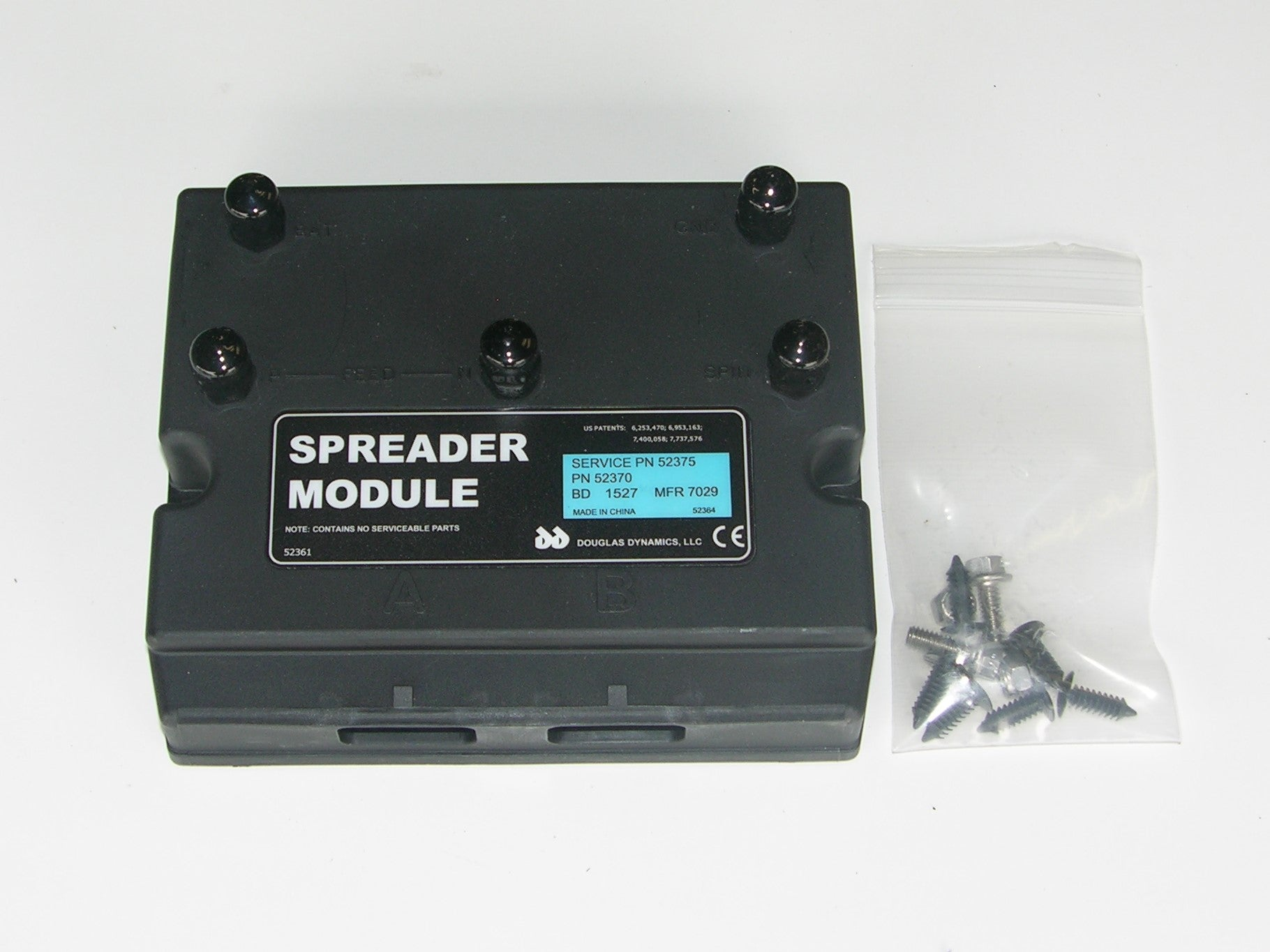 SnowEx/Western/Fisher Spreader Module 5-Post 12V, 52375/52370