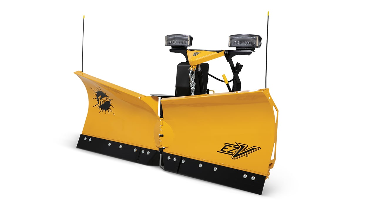 "FISHER® Snow Plow, 7'6"" EZ-V® V-Plow"