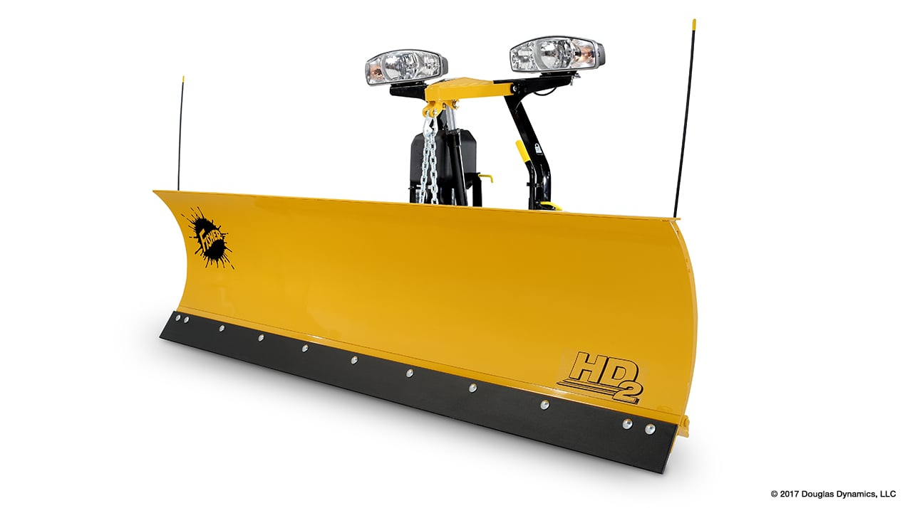 "FISHER® Snow Plow, 7'6"" HD2™ Straight Blade"