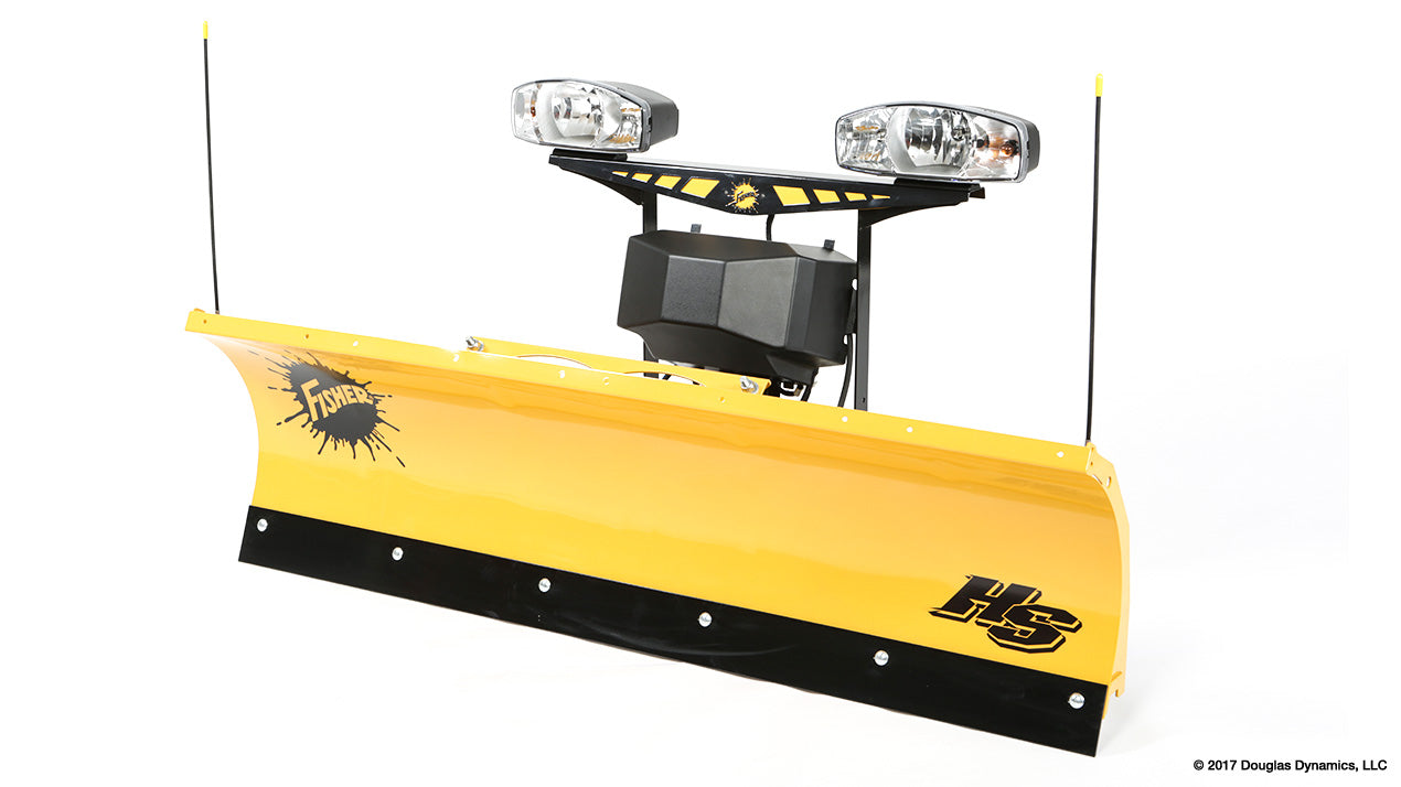 "FISHER® Snow Plow, 6'8"" HS Straight Blade"