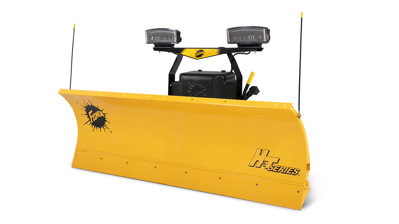 "FISHER® Snow Plow, 7'2"" HS Straight Blade"