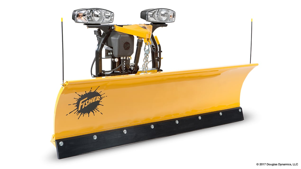 "FISHER® Snow Plow, 6'9"" SD Straight Blade"