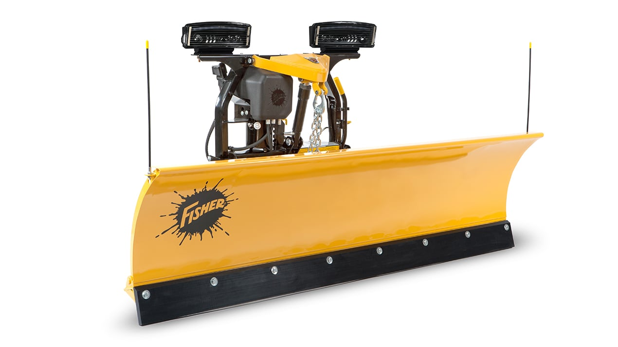 "FISHER® Snow Plow, 7'6"" SD Straight Blade"