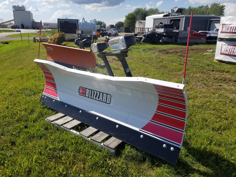 #1700 BLIZZARD 8000LT, 8' Steel Straight Blade - NEW, NEVER USED!
