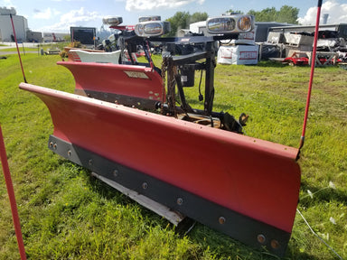 WESTERN® Snowplow #1904, 8' PRO PLUS® Steel Straight Blade, Ultramount