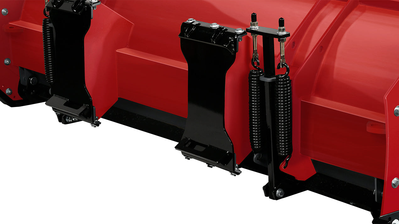 WESTERN® Snowplow, 8' PILE DRIVER™ with Steel Trip Edge