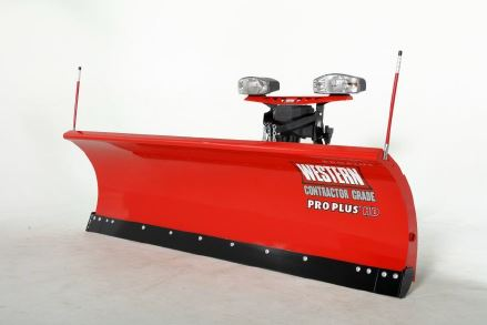 WESTERN® Snowplow, 10' PRO PLUS® HD Straight Blade