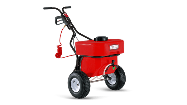 WESTERN® Spreader, SS-120 12 Gallon Walk-Behind Sidewalk Sprayer W/ Wand Sprayer