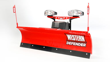 "WESTERN® Snowplow, 6'8"" DEFENDER™ Straight Blade"