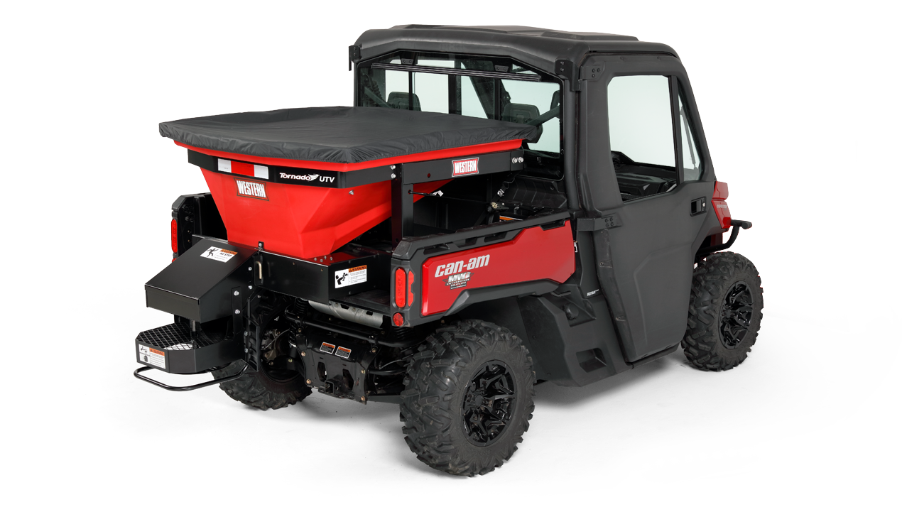 WESTERN® Spreader, Tornado™ UTV Poly Hopper Spreader