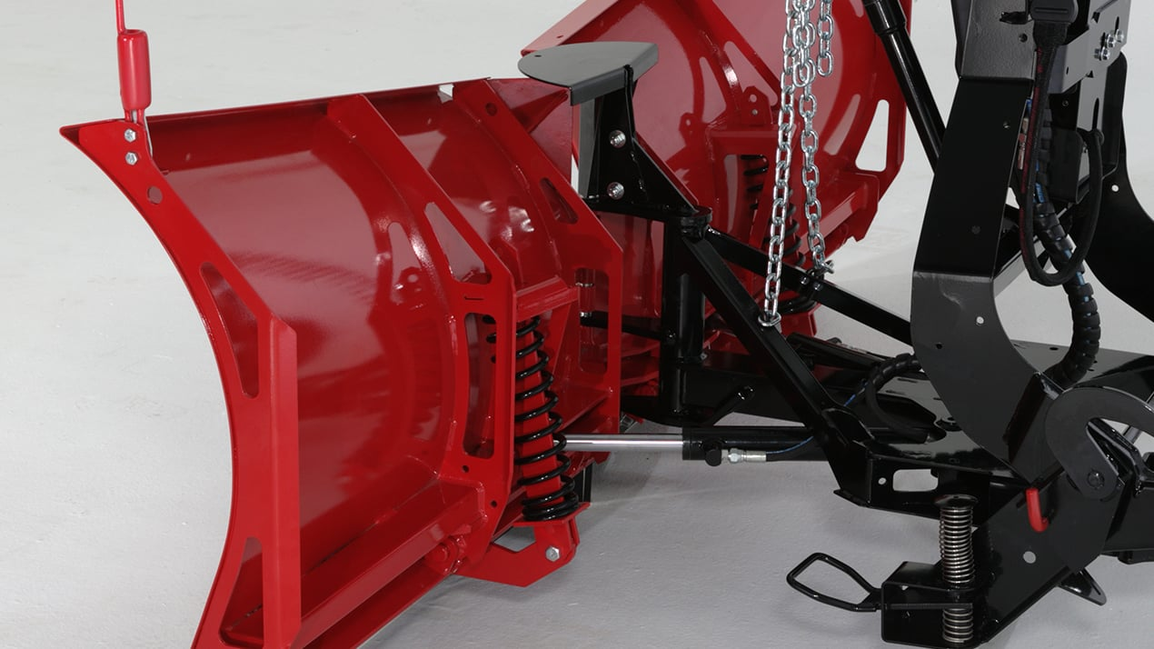 "WESTERN® Snowplow, 7'6"" ENFORCER™ Stainless Steel V-Plow"