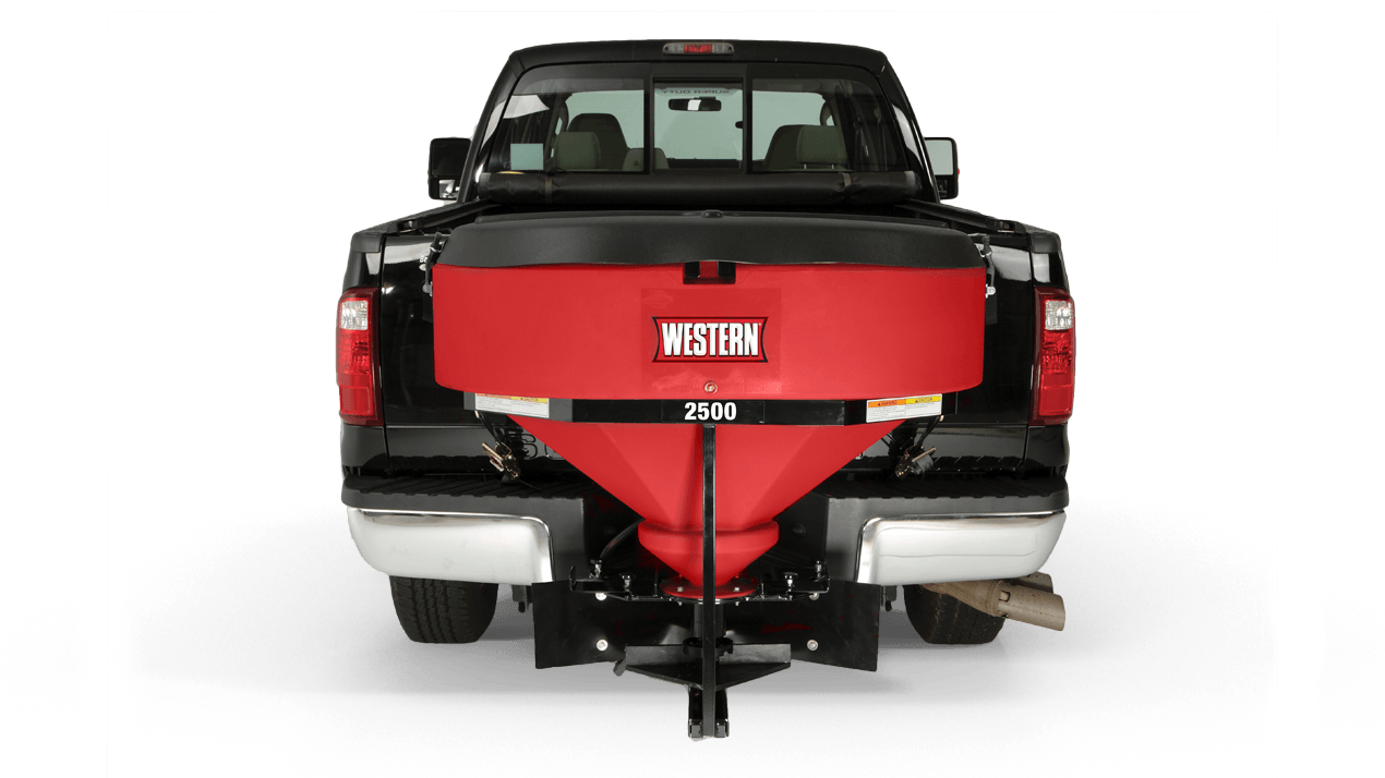 WESTERN® Spreader, Low Profile 2500 Premium Poly Tailgate Spreader