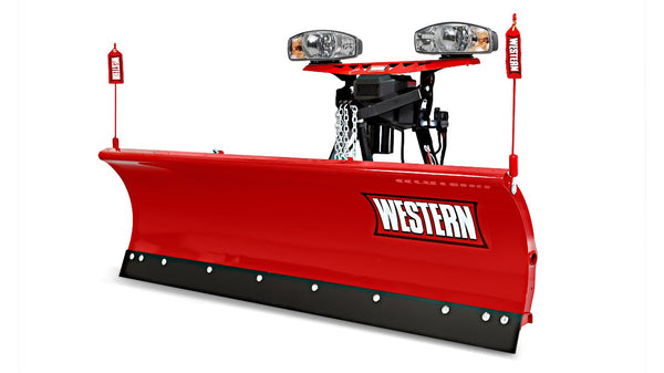 "WESTERN® Snowplow, 7'6"" MIDWEIGHT™ Poly Straight Blade"