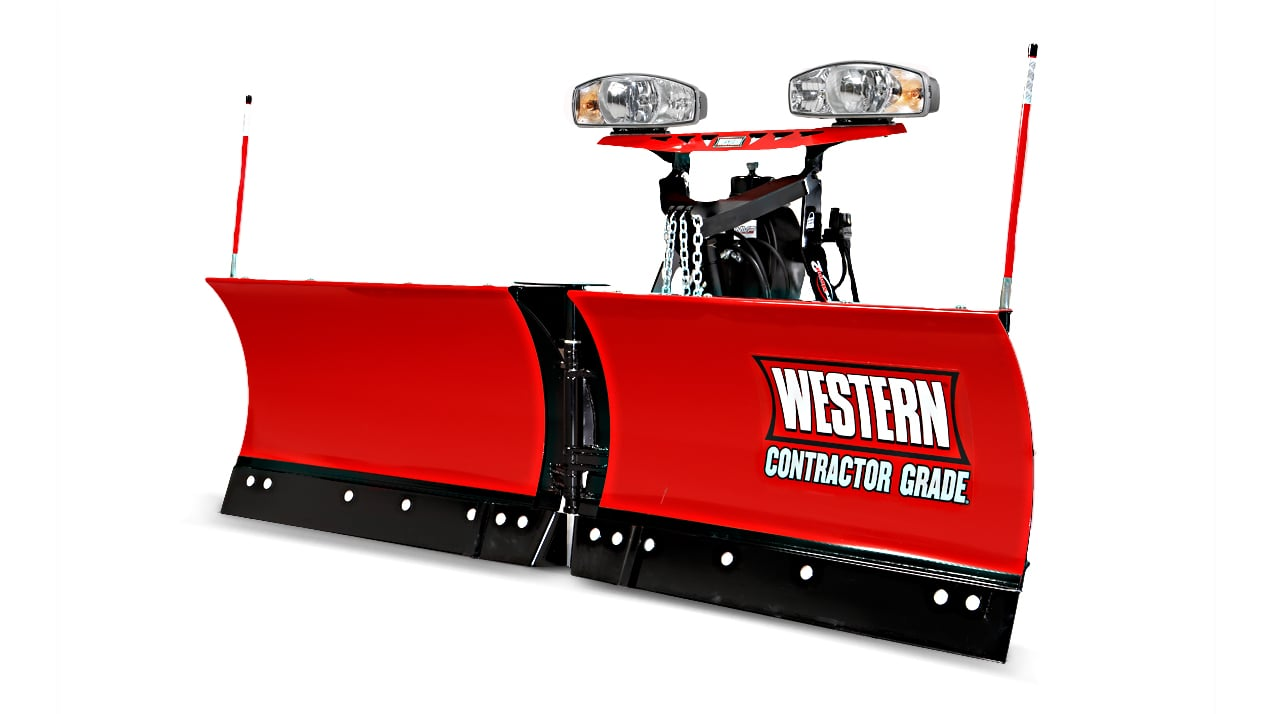 "WESTERN® Snowplow, 9'6"" MVP PLUS™ V-Plow"