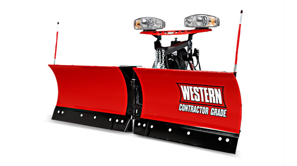 "WESTERN® Snowplow, 7'6"" MVP PLUS™ Poly V-Plow"