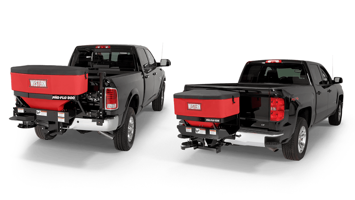 WESTERN® Spreader, PRO-FLO™ 900 Poly Two-Stage Tailgate Spreader