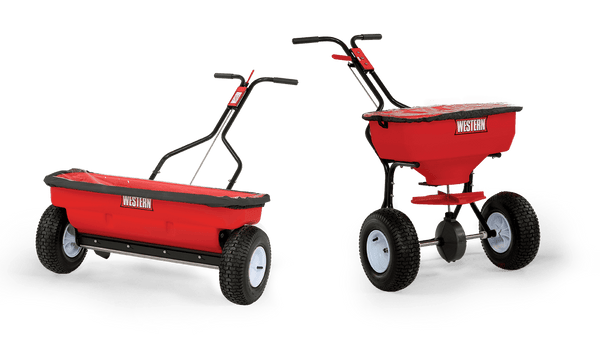 WESTERN® Spreader, WB-100B and WB-160D Walk-Behind Spreaders