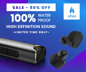Sale - 50% off on xFyro Earbuds