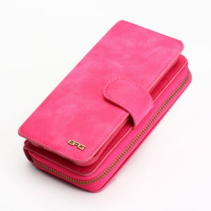 Women's Leather Purse Phone Case for Samsung Galaxy Note 8 S8 plus S6 S7 edge S4 S5 - The Trove Shop