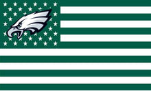 Philadelphia Eagles Stars and Stripe 3ftx5ft Banner - The Trove Shop