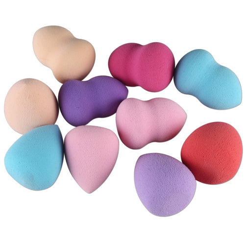 1/4/5/10Pcs Makeup Foundation Sponge Cosmetic Puff Powder Make Up Blender For Flawless Facial Beauty - The Trove Shop