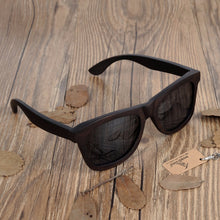 Premium Natural Wooden Frame Sunglasses w/ Polarized Lens - The Trove Shop