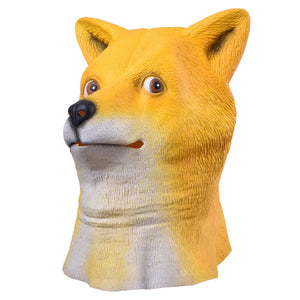 Shiba Inu Dog Head Full Face Mask - The Trove Shop