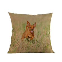 Miniature Pinscher Printed Decorative Sofa Throw Pillow Cover/Cushion+Cover - The Trove Shop