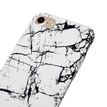 "Full Body Shockproof ""Marble"" Design Hard PC Case+Tempered Glass Cover For iPhone 7 7 8 Plus 6 6s Plus - The Trove Shop"