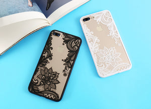 Luxury Lace Flowers iPhone Case - The Trove Shop