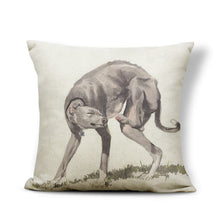 "17""x17"" Greyhound Dog Throw Pillow Covers - The Trove Shop"