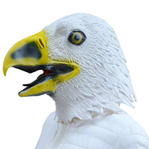 Costume Party Eagle Head Latex Mask - The Trove Shop