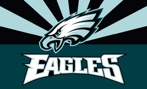 Philadelphia Eagles 3ftx5ft polyester banner with 2 Metal Grommets - The Trove Shop