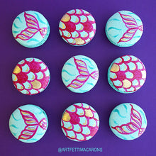 Mermaid Macarons