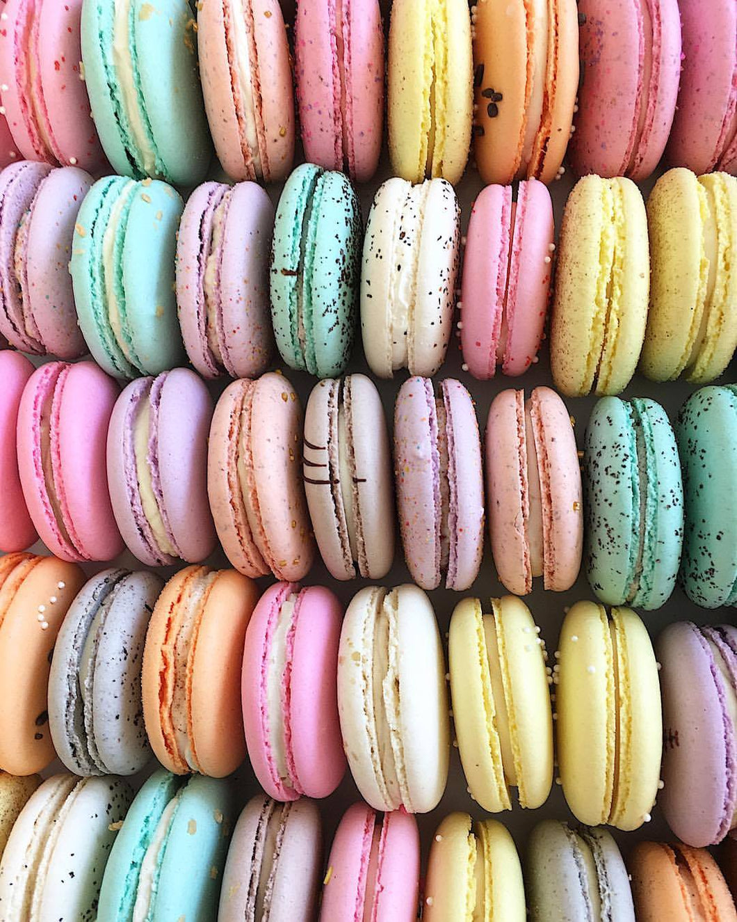 Maple Macarons