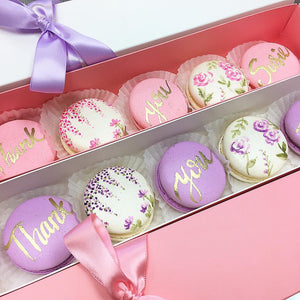 Painted Macarons Specialty Box