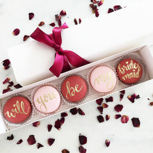 Bridesmaid/Maid of Honor Macarons Specialty Box