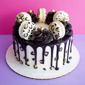 To-Go Cake (Leopard Print)