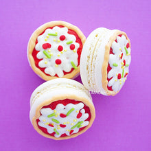 Pizza Party Macarons
