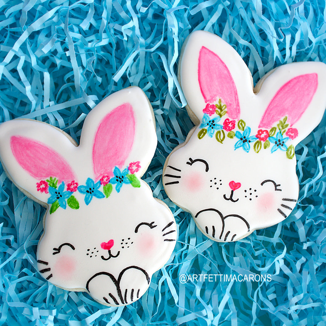 Large Bunny Cookies